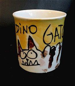 Caneca Dino Gato