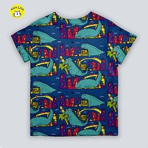 Blusinha infantil Godzilla