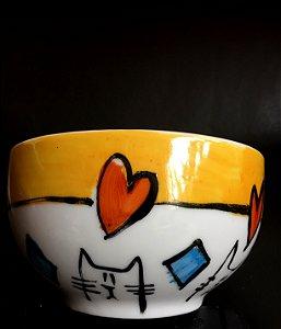 Bowl Gato e Losango