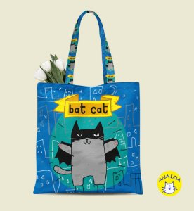 Book Bag Bat Cat