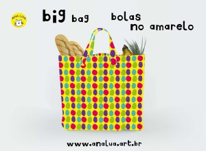 Big Bag Bolas no amarelo