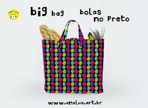 Big Bag Bolas no preto