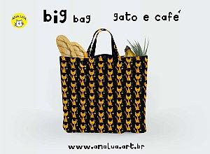 Big Bag  Gato e Café