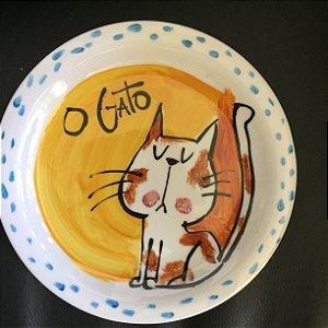 Pratinho de sobremesa O Gato