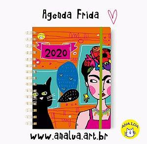 Agenda Frida e seu gato