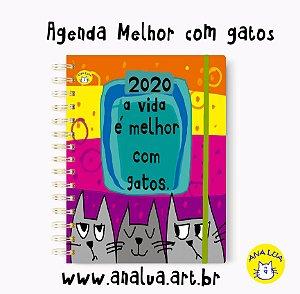 Agenda Vida com gatos
