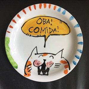 Pratinho de sobremesa  Oba!