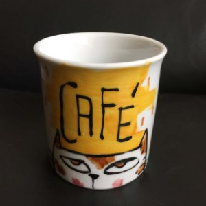 Caneca Café - gatinho