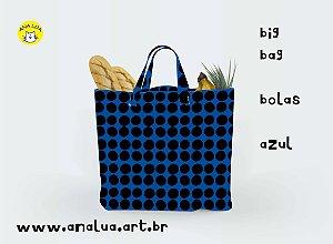 Big Bag Bolas azul