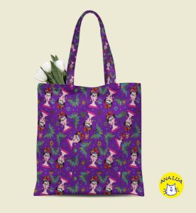 Book Bag  Frida Roxo