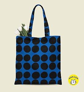 Book Bag Bola Azul