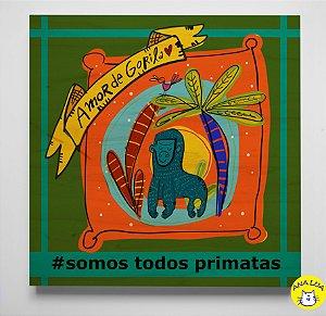 Plaquinha Gorila
