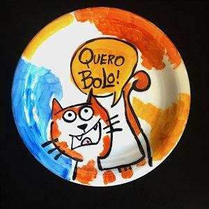 Pratinho de sobremesa  Quero Bolo!