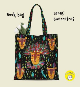 Book Bag  Leoas Guerreiras