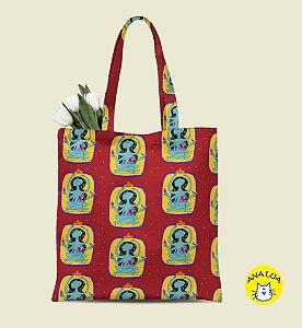 Book Bag A deusa - estampa corrida