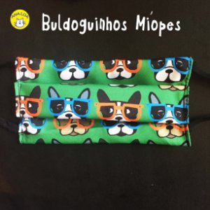 Máscara Buldoguinho Míope
