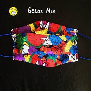 Máscara Gato Mix