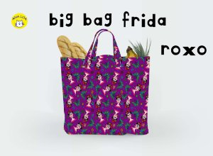 Big Bag Frida roxo