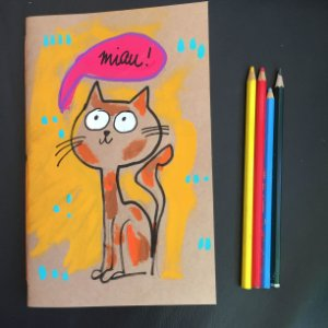 Caderno Miau