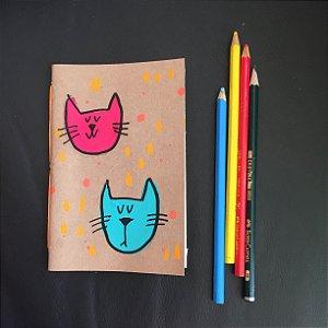 Caderninho  2 gatinhos