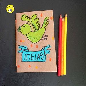 Caderninho  Papagaio