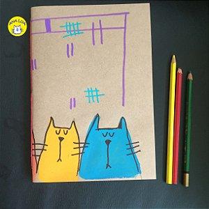 Caderno Muitos Gatos