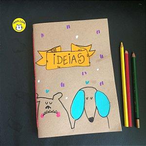 Caderno Ideias  - Cachorrinhos