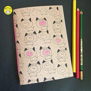 Caderninho Porquinhos
