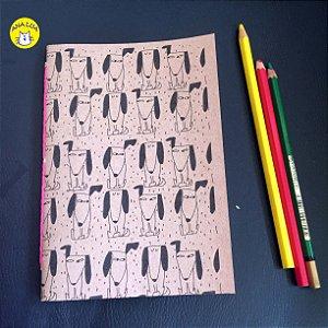Caderninho Cachorrinhos desconfiados