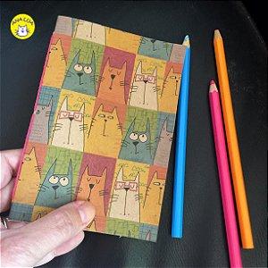 Caderninho  Gatos - retratos