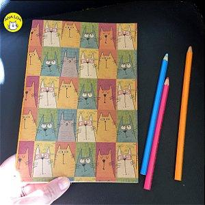 Caderno Gatos - retratos