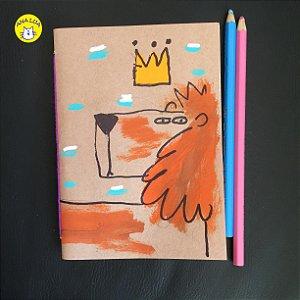 Caderninho  Leão, o Rei da Selva