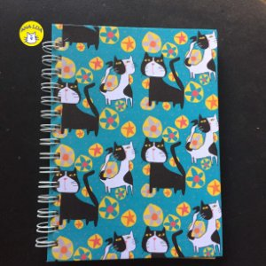Caderno  Wire-o Gatos Pop