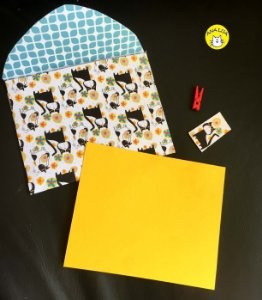 Envelope Gatos Pop