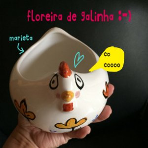 Floreira de Galinha - Marieta