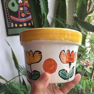 Cachepot  Flores