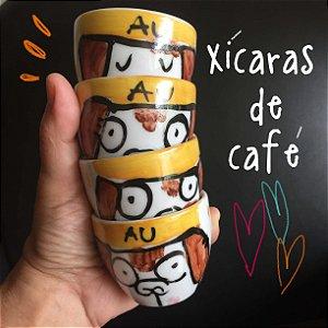 Hora do cafezinho - Cachorrinho AU