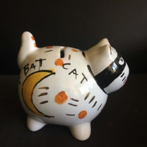 GAtinho cofre Bat Cat