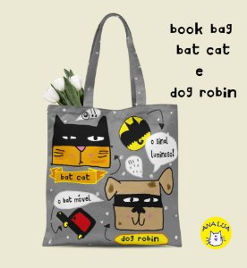 Book Bag Bat Cat e Dog Robin