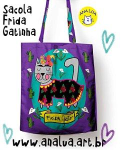 Sacola Frida GAtinha