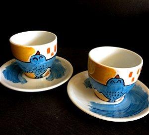 Conjuntinho 2 xicaras de chá  Sonhos