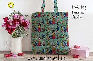 Book Bag  Frida no jardim