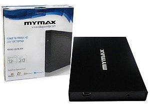Case p/ HD Mymax 2.5 Sata 2.0 USB