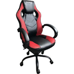 Cadeira Gamer Mymax Pto/Vermelho