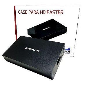 """Case HD Externo 3.5"""" Faster USB 3.0 – Preto"""
