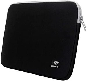 "Capa Sleeve para Notebook Seattle SL-15BK 15,6"" Preta C3Tech"
