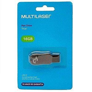 Pen Drive 16gb Usb2.0 Multilaser