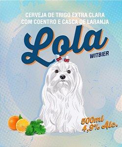 Placa Cerveja Lola Witbier