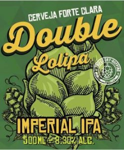Placa Cerveja Double Lolipa