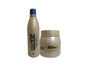 Kit Matizador Roxo Professional HairVIP (2 passos)